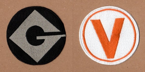 Gru and Vector Patches - Despicable Me