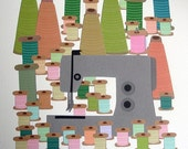Sewing Machine Giclee fine art print