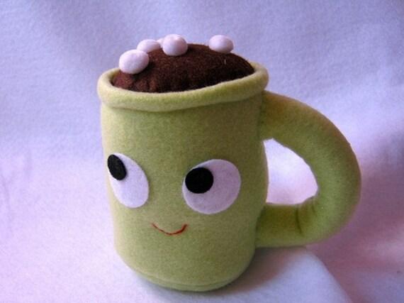 Hot Chocolate Plush Mug