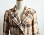 Chestnut Plaid Jacket