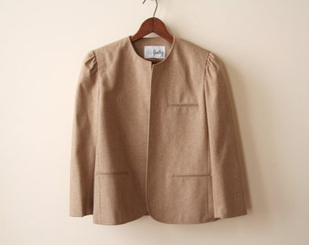 40s Oatmeal Wool Jacket