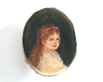 Oil Painting - Ginger Girl
