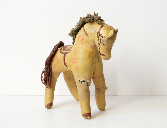 Antique Autograph Horse