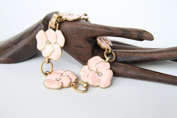 Pink Posies Bracelet