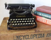 RESERVED FOR Ozzy2110 ... 1900s underwood corona folding typewriter no.3 with case and key