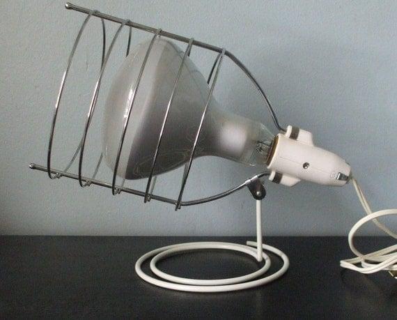 vintage ge sun tanning lamp with case. Black Bedroom Furniture Sets. Home Design Ideas