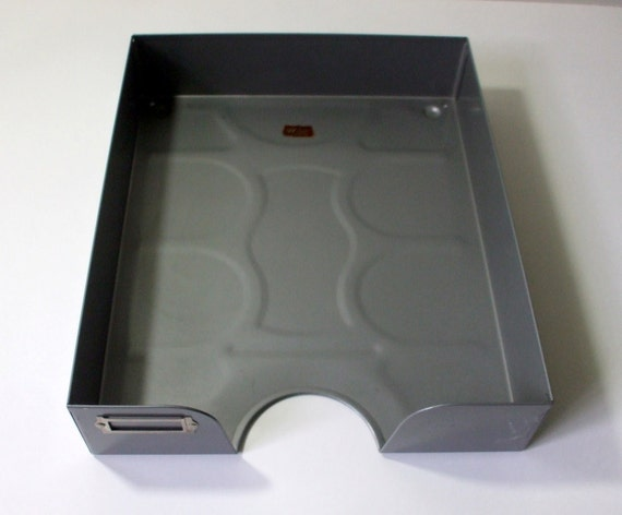Kleiderstander Weis Metall ~ Vintage weis metal file tray