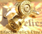Bullet Shell Cufflinks.223 2 tone Gold & Silver