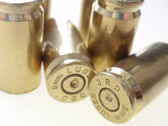 30 Mixed 9mm Empty Brass shells bullet casings brass shells rounds, cases, cartridges, empties, shells, reloads, reloading spent  gun