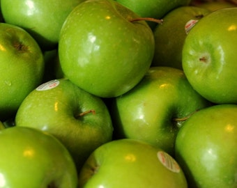 Photo Print of green applies - green apples