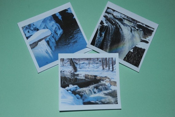 Blank Greeting Cards - Blank Mini Cards - MINIS ARE HERE - 4 cards