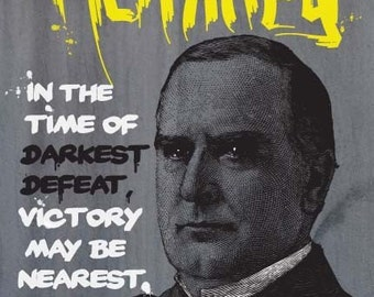 William McKinley Print 11x17 - Famous Seniors