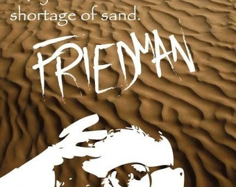 Milton Friedman Print 11x17 - Famous Seniors