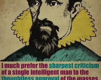 Johannes Kepler Print 11x17 - Famous Seniors