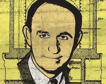 Enrico Fermi Print 11x17 - Famous Seniors
