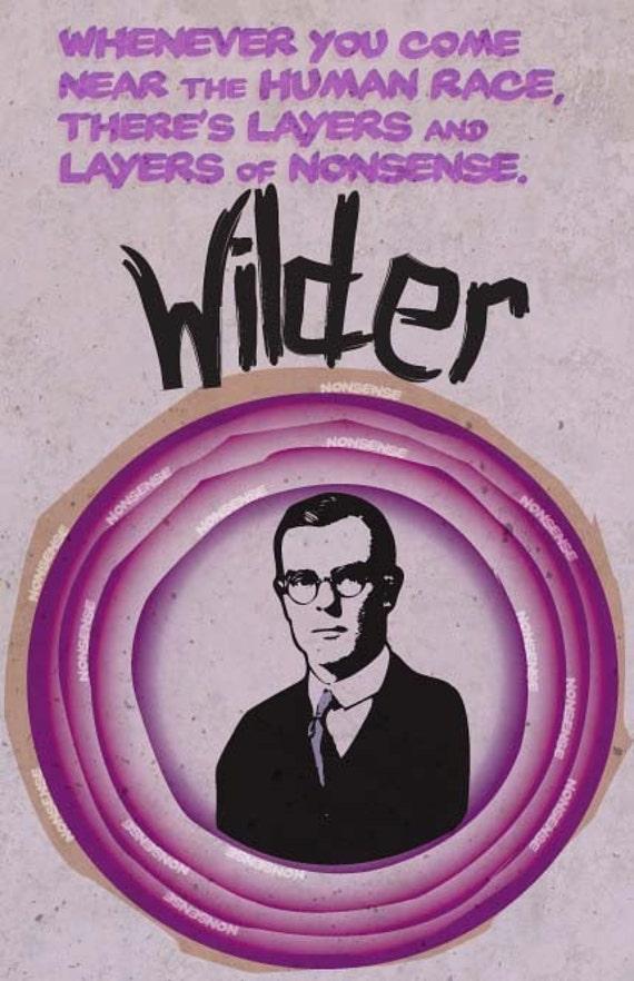 Thornton Wilder Print 11x17 - Famous Seniors