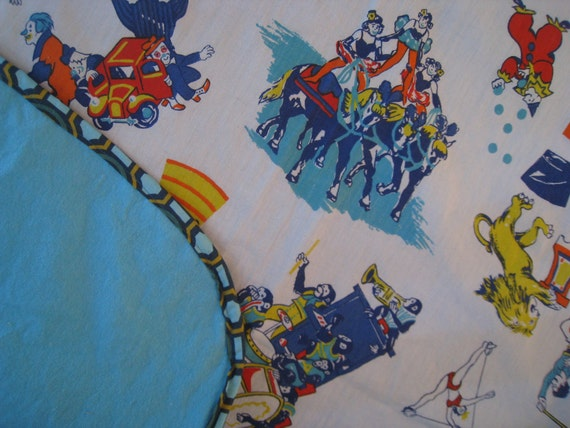 Flannel Circus Blanket