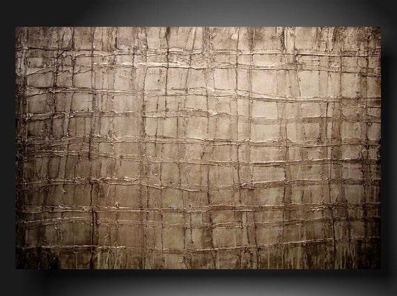 original art painting   JMJARTSTUDIO Original Painting 24 X 36 INCHES Textured textured textured------- In between--- ------