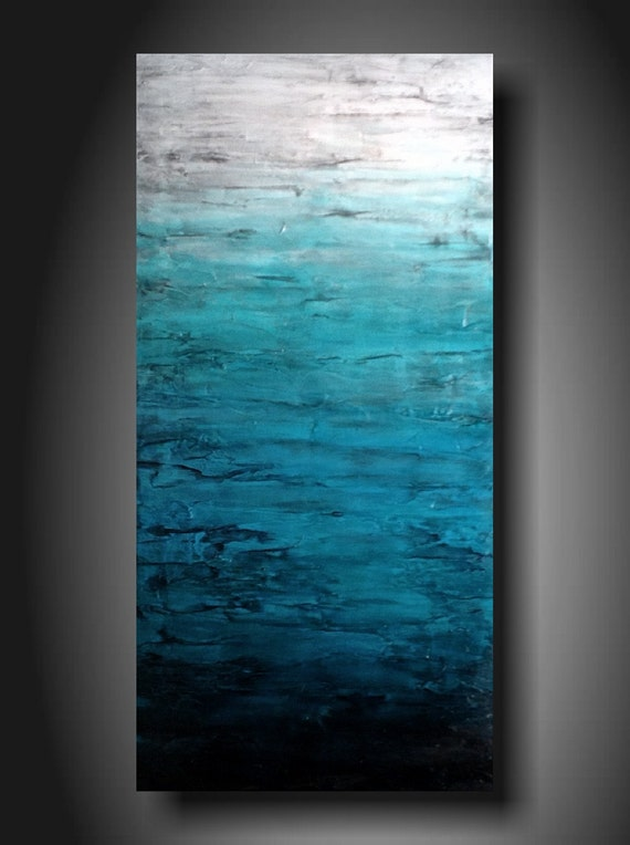 Art painting Jmjartstudio Original Painting 18 X 36 Inches ------- Upstanding------