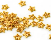 10 pcs. 6x1mm. 24K Vermeil Spacers