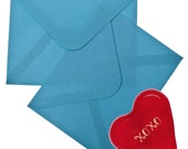 Red Glass Heart Hugs and Kisses 4 Family Friendly Love Note Game