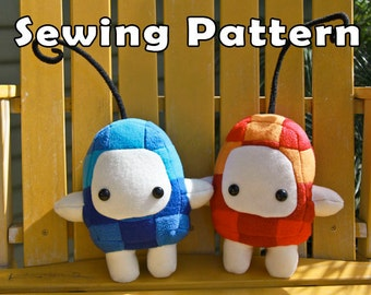 PDF DOWNLOAD Sewing Pattern Puzzle Solvers Plush