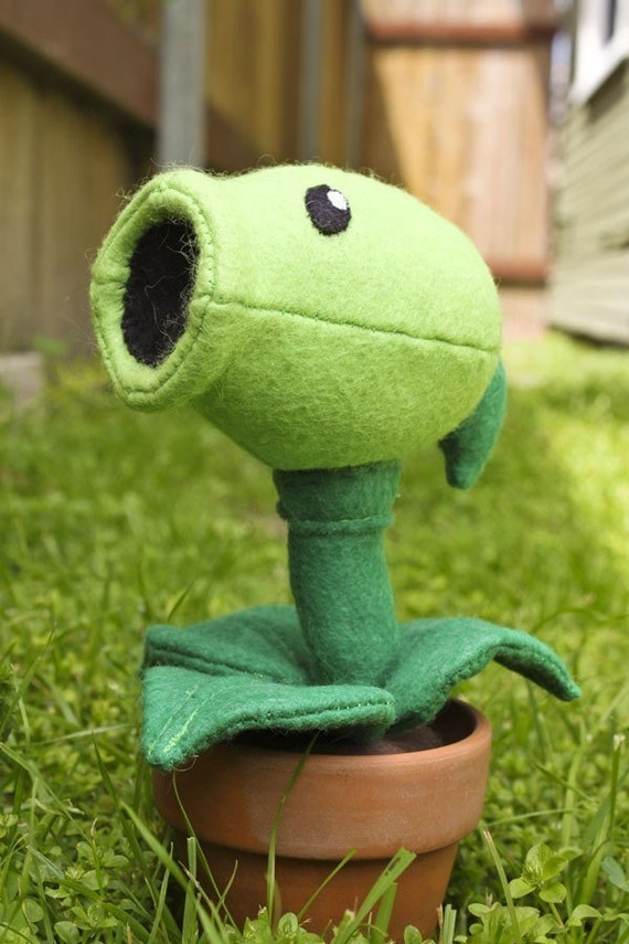 SEWING PATTERN Plants vs Zombies Pea Shooter