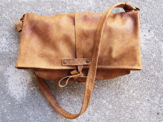 THE SATCHEL - LEATHER TOTE