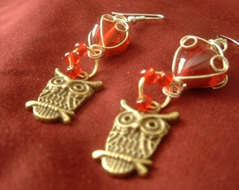 Harry Potter Owl Earrings