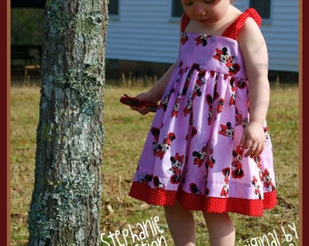 Stephanie Collection Boutique Minnie Mouse Sundress Set