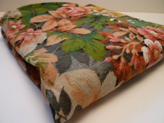 TAPESTRY vintage barkcloth fabric