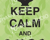 12x18 Keep Calm and DFTBA