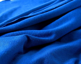 5/8 Yds. Dark Royal Blue Lycra 4 Way Stretch Fabric