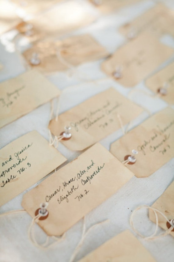 Items Similar To Wedding Tags