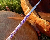 Purple Pansy Crochet Hook size F