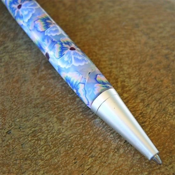 Rainbow Pansy Twist Pen