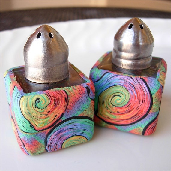 Magic Swirls Mini Salt & Pepper