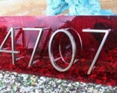 Modplexi Address Plaque for 4 House Numbers