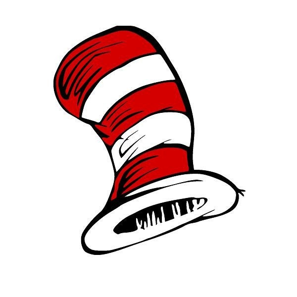 Dr seuss hat children toddler vinyl wall decal multi colored for Best from cat in the hat wall decal ideas