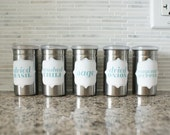 Printable Kitchen Spice Labels - 24 Labels for your Spice Pantry