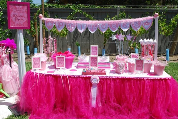 Custom Table Tutu