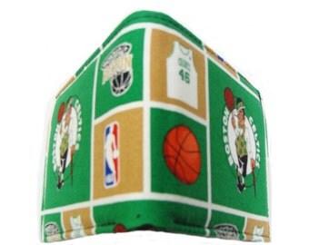 NBA basketball Boston Celtics biofold men wallet USA handmade cotton fabric, new
