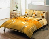 SALE- 3 Pieces Queen Bedding Set by Mauve Binchely-AVAILABLE ALSO IN TWIN AND FULL SIZE