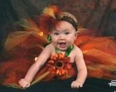 Annie's Princess Tutu Halter Dress-sizes - 6months - 1 yrs...Plus a FREE Flower clip