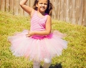 Cup Cake Princess...size Large (5-7 years old)...plus a FREE matching tulle hair clip....
