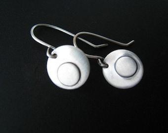 Sterling Eclipse Earrings