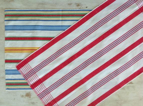 Vintage Stripe Dish Towels