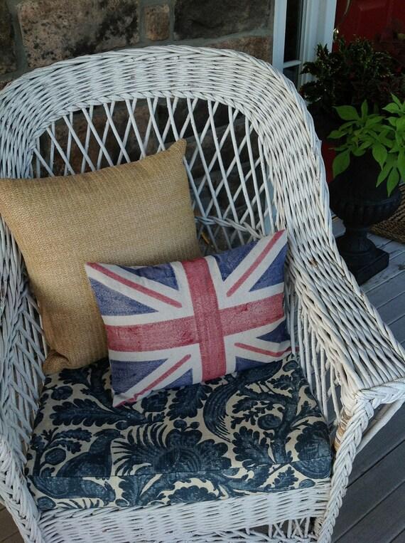 SALE Union Jack Pillow Cover
