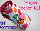 Crayon Keeper Roll PDF Pattern Instructions