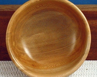 Hand Turned Wooden Bowl - Red Sycamore